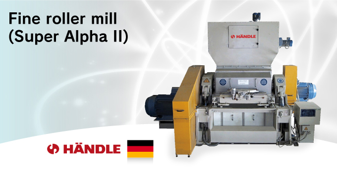 Fine roller mill (Super Alpha II)